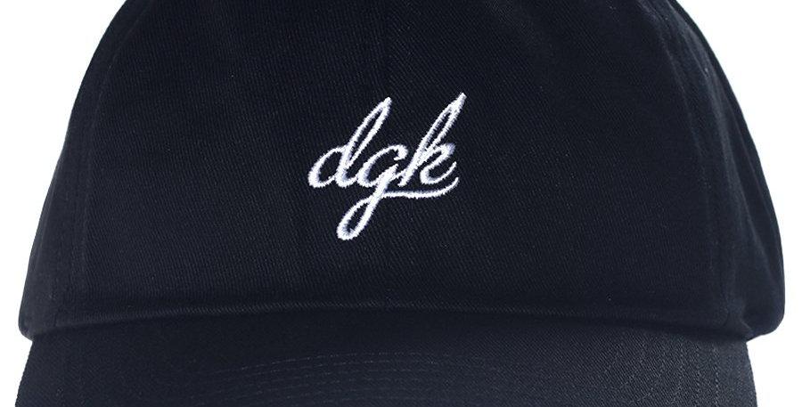 Boné Dgk Loud Dad Hat Strapback - Black