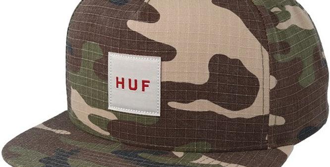 Boné HUF Logo Box Tee - Camo