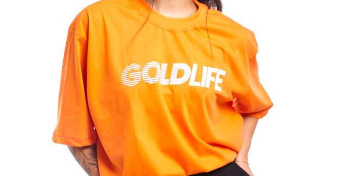 Camiseta Gold Life F1 - Orange