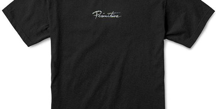 Camiseta Primitive Nuevo Hologram Foil - Black