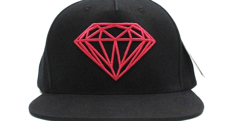 Boné Diamond Brilliant Snapback - Black