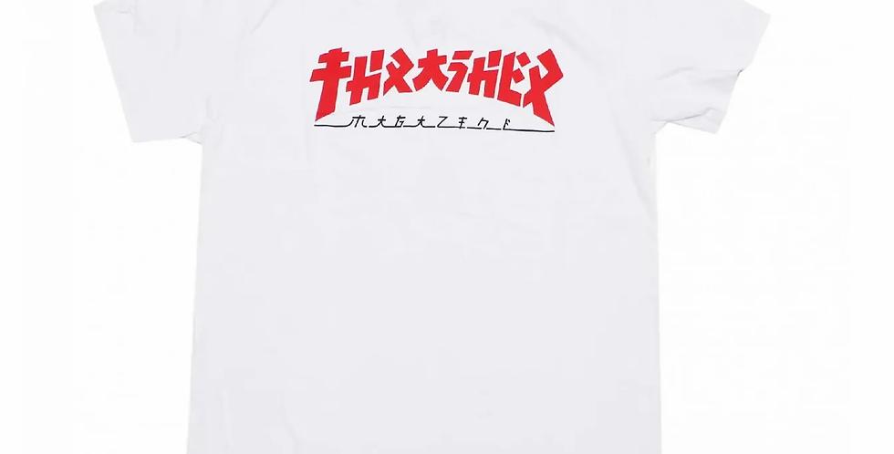 Camiseta Thrasher Godzilla - White