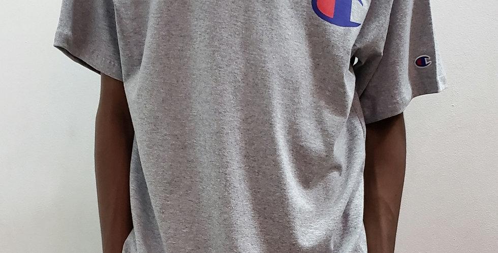 Camiseta Champion C Logo Ink - Mescla