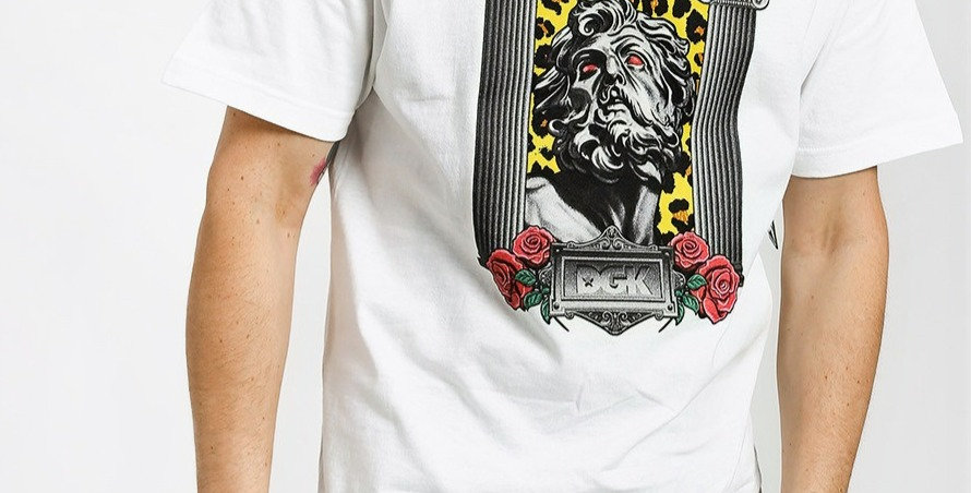 Camiseta Dgk NO GODS - White