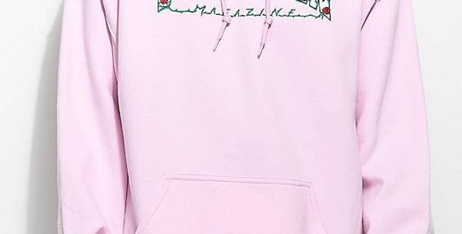 Moletom Thrasher Mag Roses Hoodie - Pink