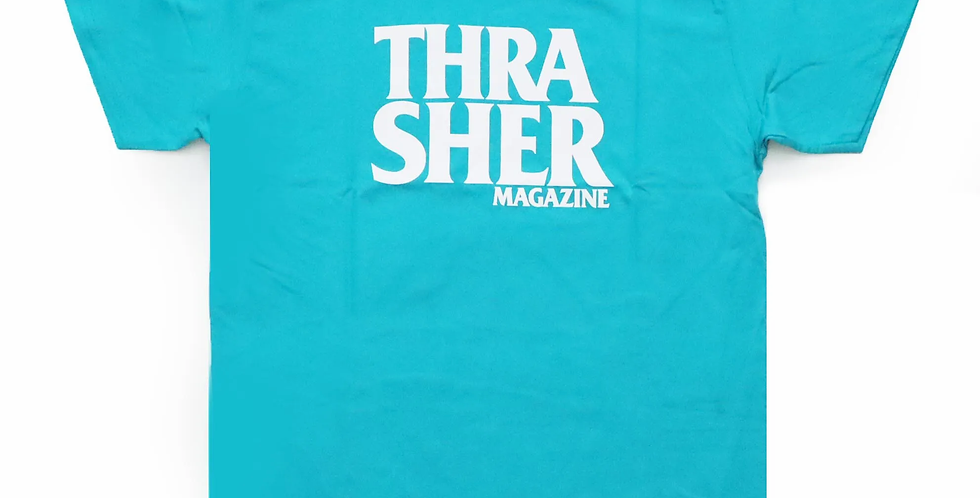 Camiseta Thrasher Anti Logo - Celadon