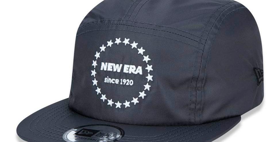 Boné New Era Camper Since 1920 5Panel Strapback Hat - Dark Gray