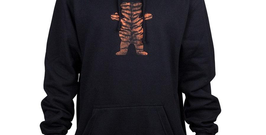Moletom Grizzly OG Bear Tiger Stripe Hoodie - Black