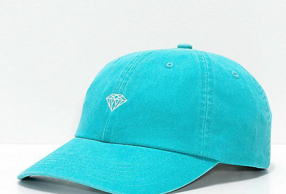 Boné Diamond Micro Brilliant Dad Hat Strapback - Diamond Blue
