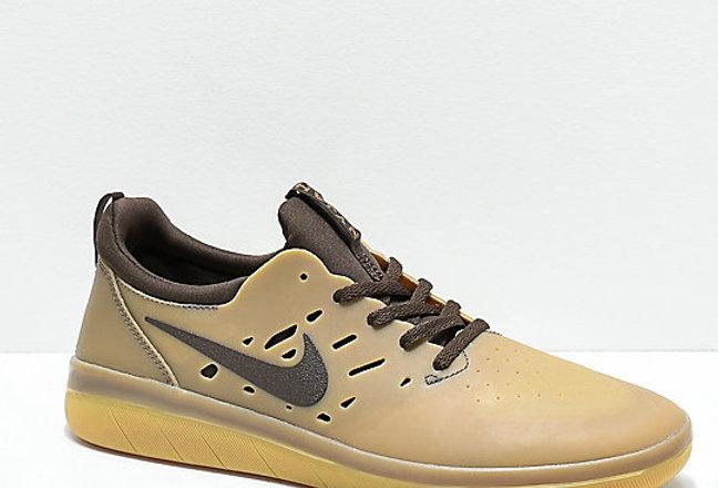 Tênis Nike SB Nyjah Free - Summit Dark Brown