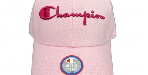 Boné Champion Classic Twill Strapback Hat - Pink
