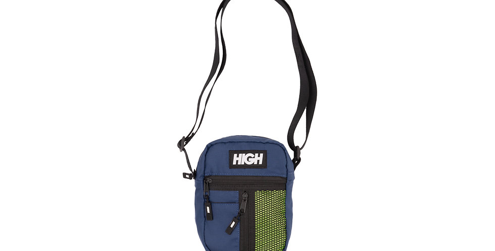 Shoulder Bag HIGH Bag Side Block - Navy Yellow