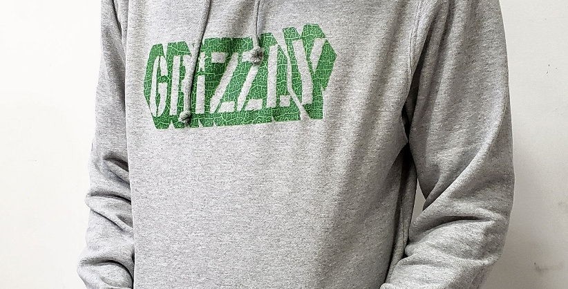 Moletom Grizzly Leaf Cutout Hoodie - Heather
