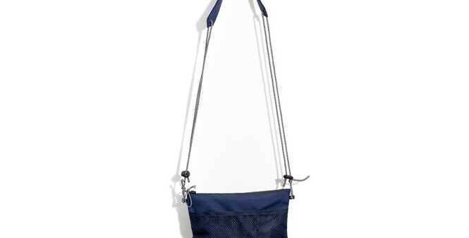 Shoulder Bag Hocks - Pocket Navy Red