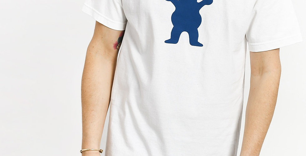 Camiseta Grizzly OG Bear Logo - White