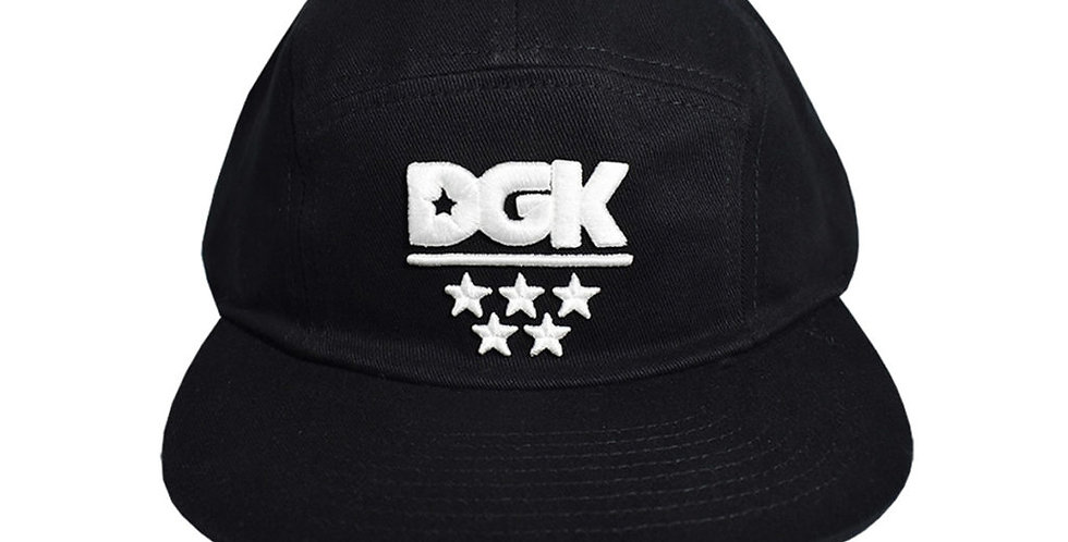 Boné DGK All Star Camper Five Panel - Black