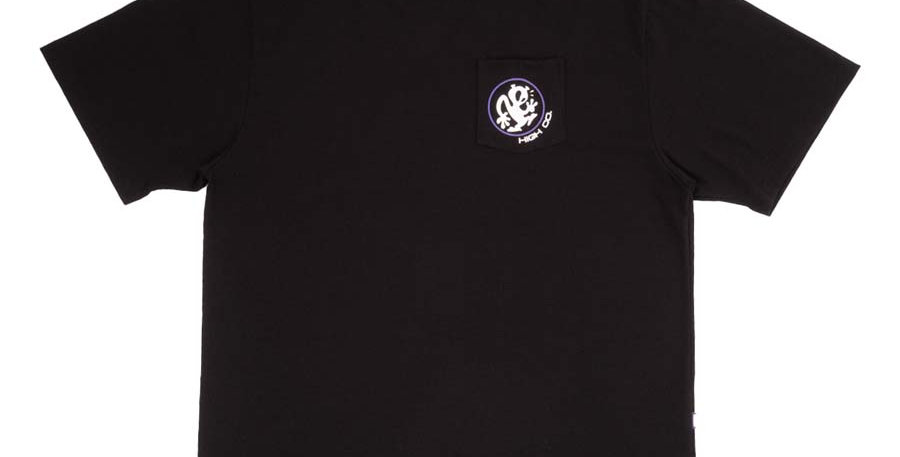 Camiseta HIGH Pocket Tee Outsider - Black