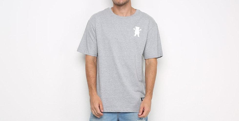 Camiseta Grizzly Pack Og Bear - Cinza