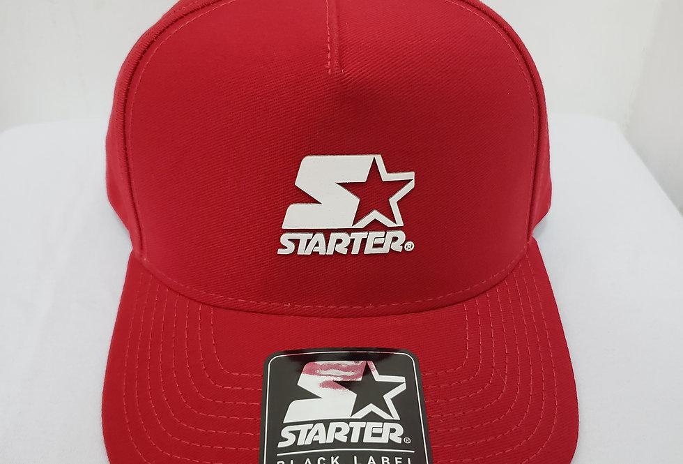 Boné Starter Logo A.C. Snapback - Red