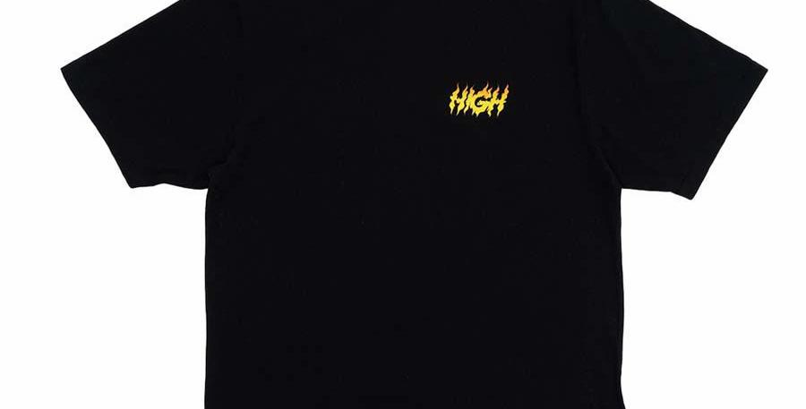 Camiseta HIGH Tee Surfin - Black