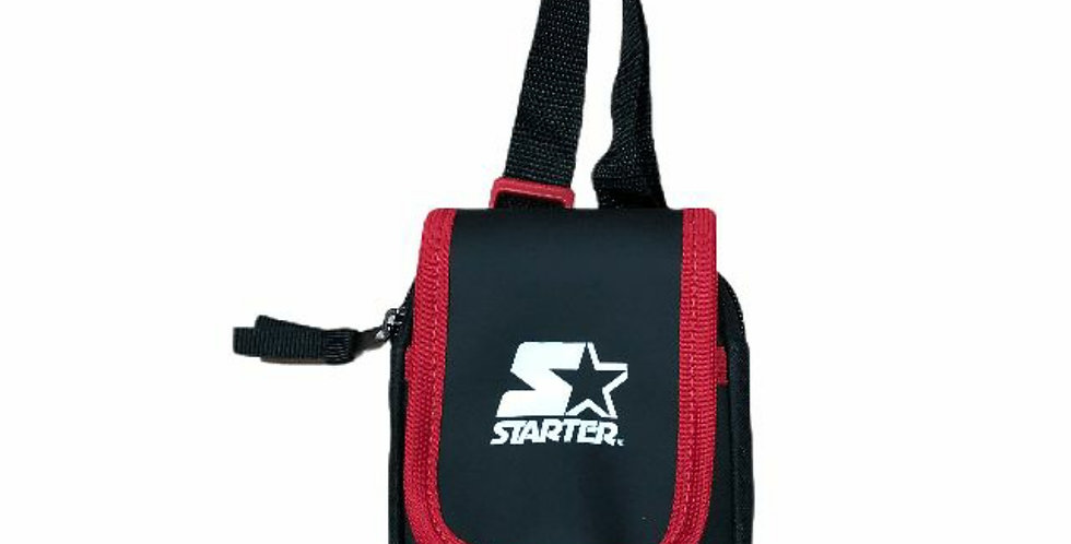 Shoulder Bag Starter Mini Transversal - Black Red