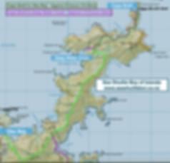 Cape Brett Walk Map