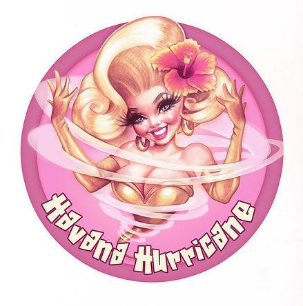 Havana Hurricane Burlesque Performer