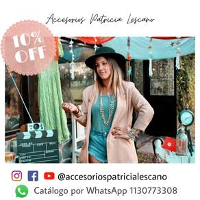 ACCESORIOS PATRICIA LESCANO