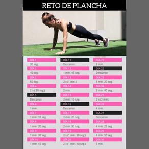 RETO DE PLANCHA