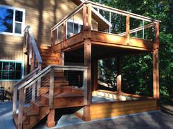 Beautiful deck addition