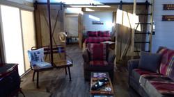 Modern cabin feel