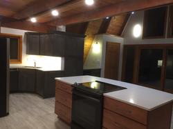 A-frame kitchen