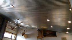 Galvanized metal ceilings