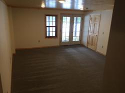 Walkout basement renovation