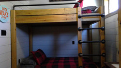 Custom bunk beds to maximize space