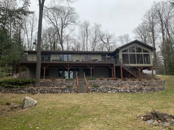 Deck and Sunroom in Three Lakes