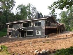 New home build, walkout basement