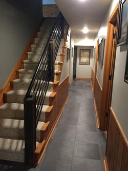Custom fabricated railings