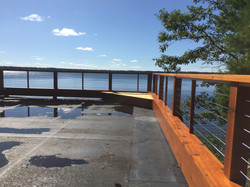 Rooftop deck on Fence Lake