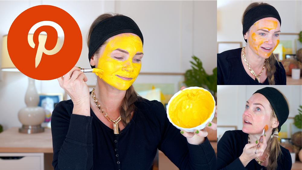 I found a bunch of fall DIY face masks on Pinterest and decided to test them.