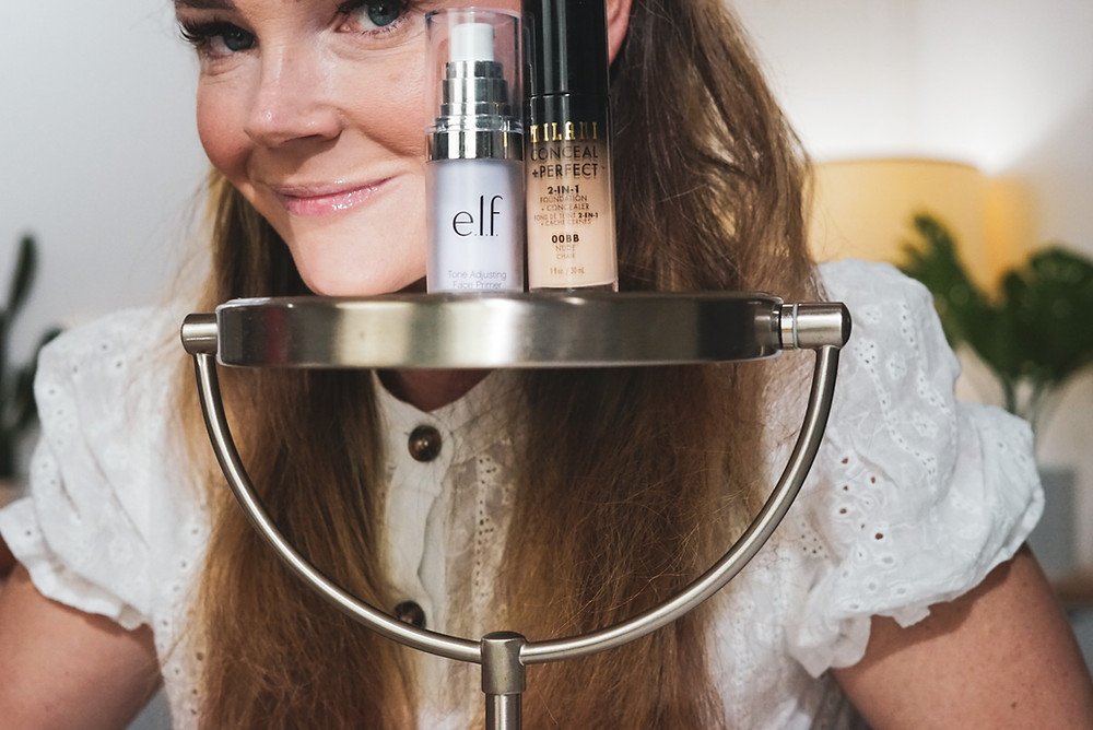 Cheap Target Drugstore Makeup Milani Foundation & elf Primer