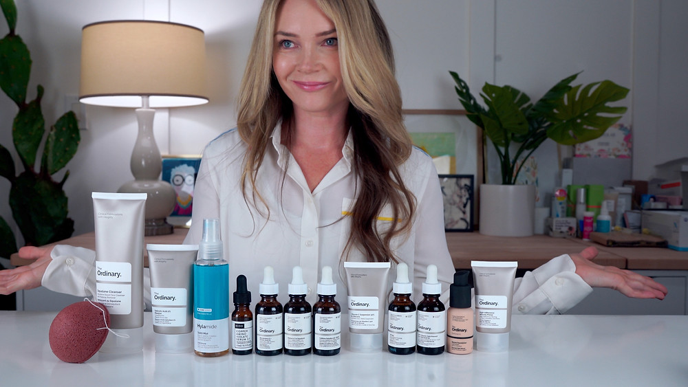 I try a bunch of The Ordinary products for a month and give a full review on my youtube channel.