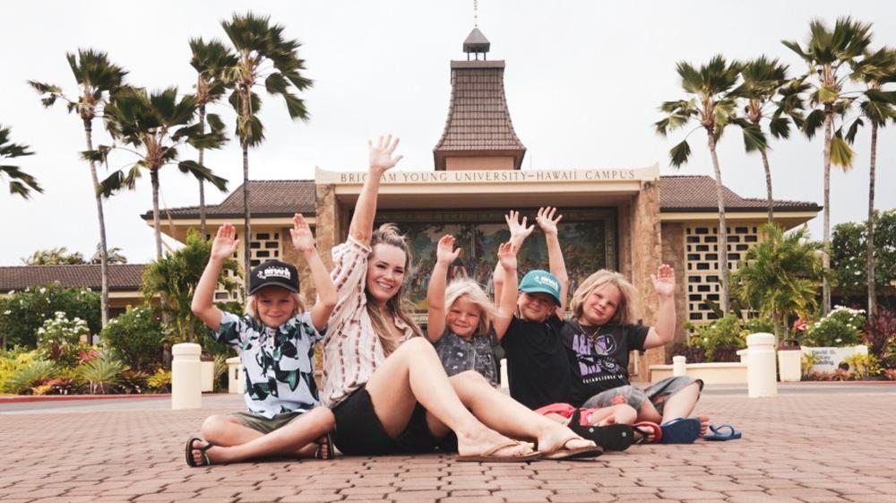 natural kaos is mormon and graduated from BYU Hawaii