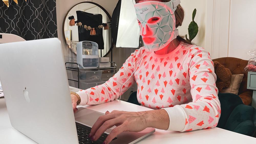 Natural Kaos LED Mask Multitasking
