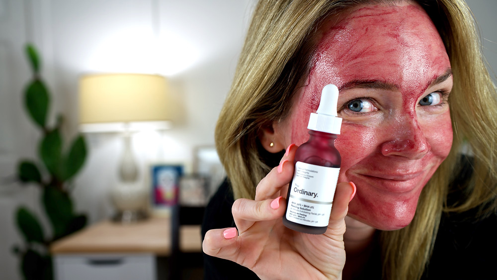 I test the ordinary peeling solution, will it cause me to peel?
