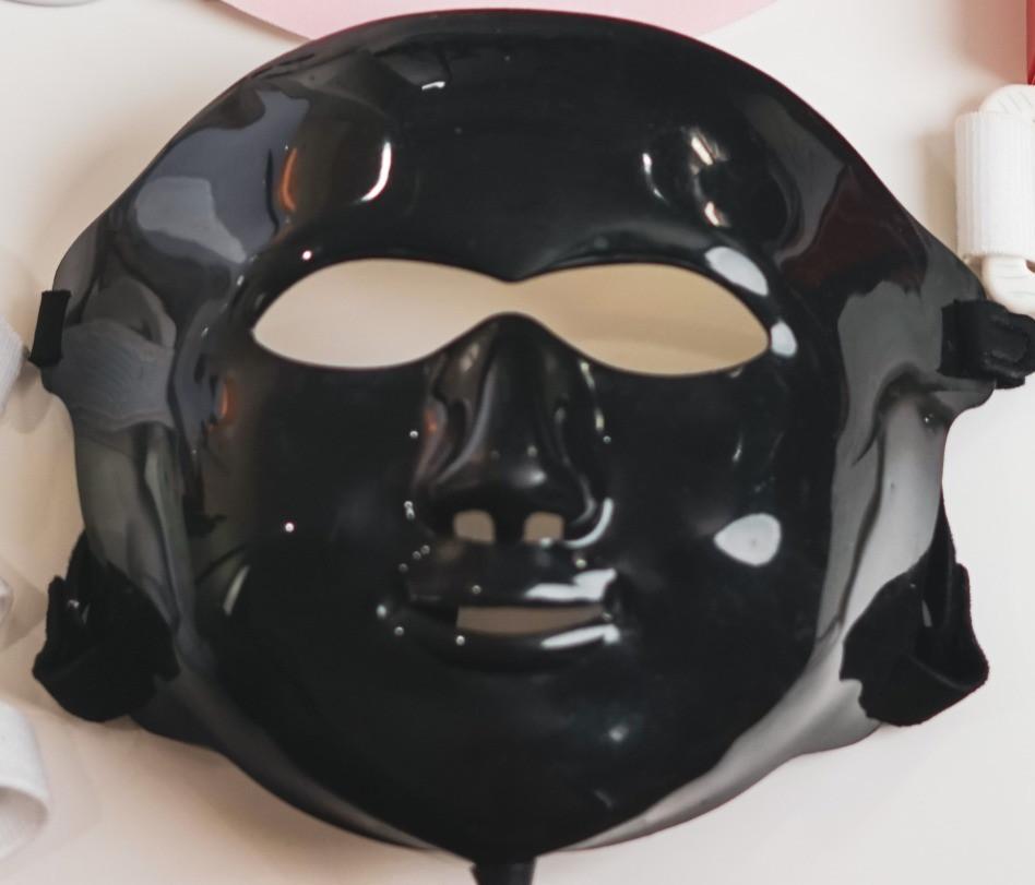 Natural Kaos Black LED Mask