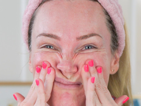FACIAL MASSAGE TOOLS, ROUTINE & SONG