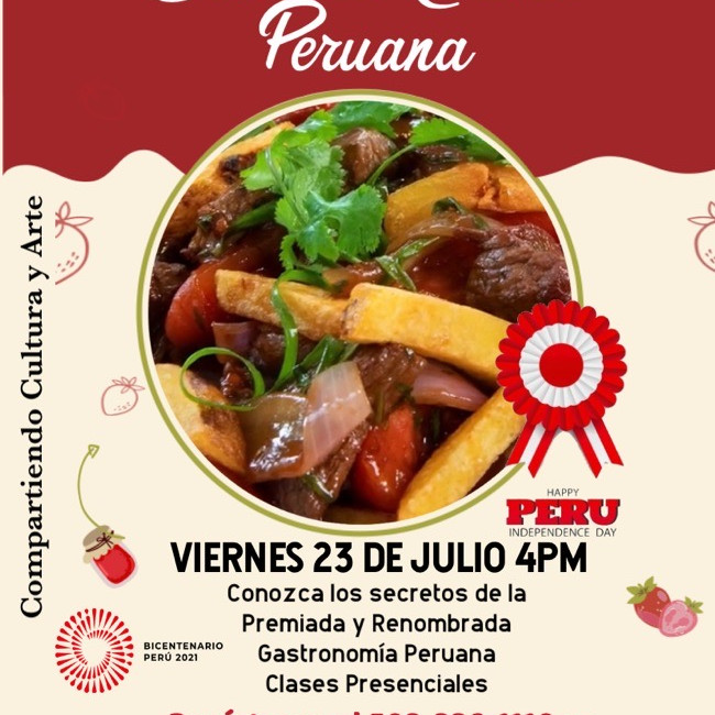 Peruvian Gastronomy Class