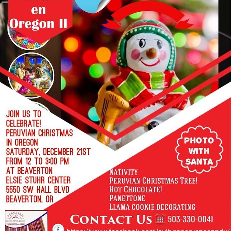 Navidad Peruana en Oregon II