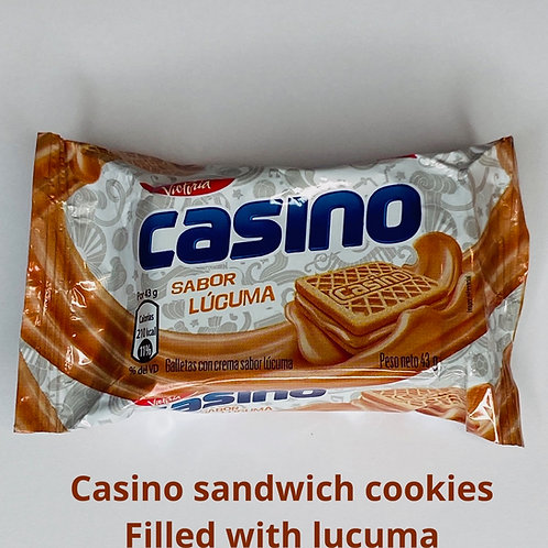 Casino Sandwich Cookies
